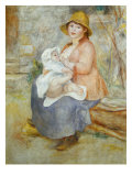 Madame Renoir with his Pupil Pierre