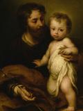 Saint Joseph with Jesus
