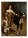 Dwarf with Dog