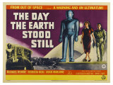 The Day The Earth Stood Still  UK Movie Poster  1951