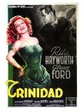 Affair in Trinidad  Italian Movie Poster  1952