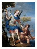The Arcangel Raphael and Tobias