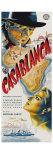 Casablanca  Czech Movie Poster  1942