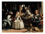 Las Meninas (The Maids of Honor) - detail  1656
