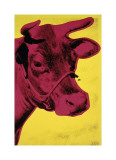 Cow, c.1966 (Yellow and Pink) Giclée par Andy Warhol