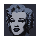 Marilyn, c.1967 (Black) Giclée par Andy Warhol