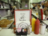 Customers Sit at the Counter at This Traditional American Diner