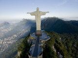 Christ the Redeemer Statue Above Rio De Janeiro