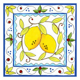 Rustic Tile III Reproduction d'art par Chariklia Zarris