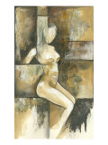 Mini- Contemporary Seated Nude I