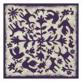 Folk Story in Purple