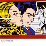 In the Car, c.1963 Reproduction d'art par Roy Lichtenstein