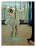Dancer in Front of a Window Giclée premium par Edgar Degas