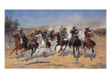 A Dash for Timber Giclée premium par Frederic Sackrider Remington
