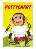 Monkey Potty Chart