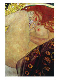 Danae Reproduction d'art par Gustav Klimt