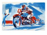 No 4 Motorcycle