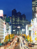 Park Hyatt Hotel and Night Lights in Shinjuku  Tokyo  Japan  Asia