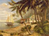Key West Hideaway Giclée premium par Enrique Bolo