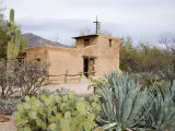 Adobe Mission  De Grazia Gallery in Sun  Tucson  Arizona  United States of America  North America
