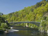 Telford Iron Bridge  Built in 1815  across the River Spey  Scotland  United Kingdom  Europe