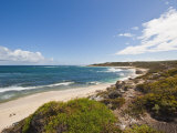 Looking North from Gnarabup Towards the Surf Break at Mouth of Margaret River  Western Australia
