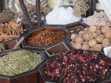 Spices for Sale in the Spice Souk  Deira  Dubai  United Arab Emirates  Middle East