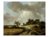 Landscape with Figures on a Path  c1746-48