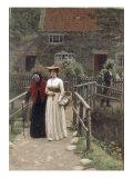 A Wistful Glance  1897