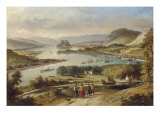 The Clyde from Dalnotter Hill  1857