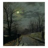 Lane in Cheshire  1883