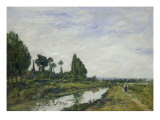 Petit Canal a Quilleboeuf  1893