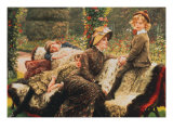 Le Banc de Jardin  1882
