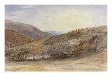 Landscape with Setting Sun  Devon