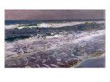 Efecto de Manana en el Mar (Valencia)  1908