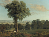Landscape with a Distant View of Oxford