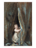 Study of the Artist's Daughter Maria as Bo-Peep  1820