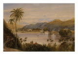 The Temple of the Tooth  Kandy  Ceylon  c1852