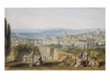 Florence from the Chiesa al Monte  1818