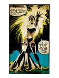 Marvel Comics Retro: X-Men Comic Panel  Storm (aged)