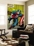 Marvel Comics Retro: Captain America Comic Panel  US naval Hospital (aged)