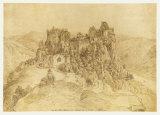 Aggstein Castle Reproduction pour collectionneurs par Yves Klein