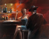 Evening in the Bar II Reproduction d'art par Willem Haenraets