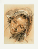 Study of a Head of a Girl