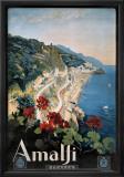 Amalfi Reproduction giclée encadrée