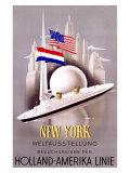 New York to Holland  America Line