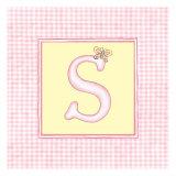 Girl Letter S