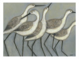 Shore Birds II Reproduction d'art par Norman Wyatt Jr.