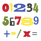 Kid's Room Numbers