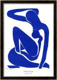 Nu Bleu I, c.1952 Reproduction encadrée par Henri Matisse